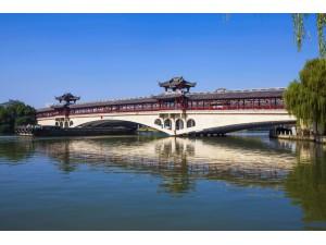 绍兴风则江廊桥