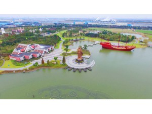 江苏太仓郑和公园1,总造价3.3亿元