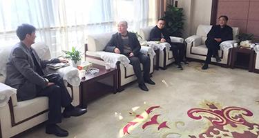 绍兴市越城区公管办领导来威廉希尔app集团调研